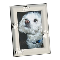 Paw Print Frame, Holds 4x6 Photo