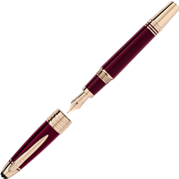 John F. Kennedy Special Edition Burgundy Fountain Pen