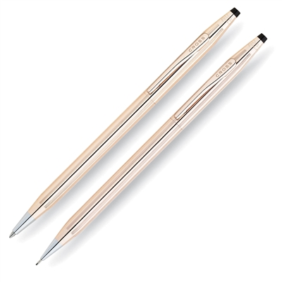 Cross Classic Century 14 Karat Gold Filled/Rolled Gold Pen and Pencil Set