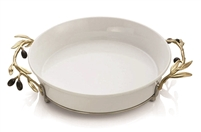 Olive Branch Pie Dish