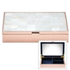 Mother of Pearl Rose Gold Jewelry Box by Reed & Barton