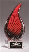 Droplet-Shaped Art Glass Award