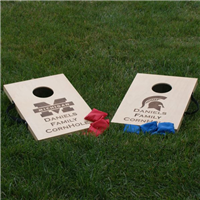 CORNHOLE BEAN BAG TOSS TRAVEL GAME SET