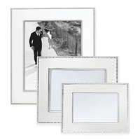 4x6 Silver Beaded Frame by Reed & Barton