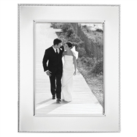 8 x 10 Silver Beaded Frame by Reed & Barton