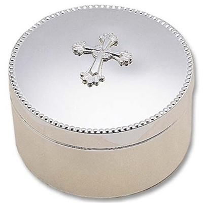 Abbey Cross Jewelry Box