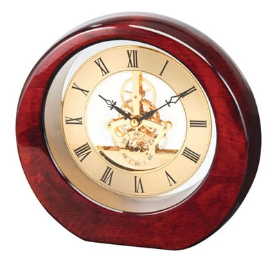 DaVinci See Thru Clock