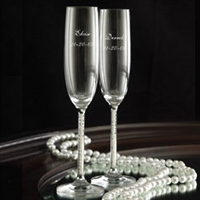 Jubilee Pearl Toasting Flute S/2