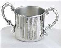 Pewter Double Handle   cup
