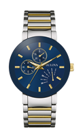Mens Stainless Steel Two Tone Futuro