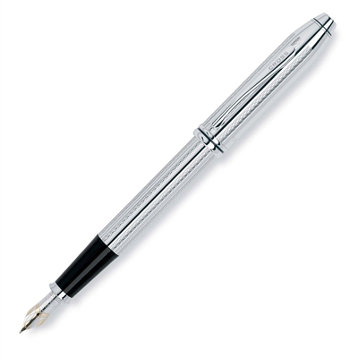Cross Townsend Platinum Plated Fountain Pen