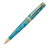 Year of the Monkey Tibetan Teal Ballpoint Pen