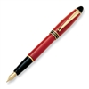 Aurora Ipsilon Resin Red Fountain Pen