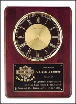 Clock Plaque