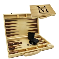 Personalized Backgammon Game Set