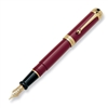 Aurora Talentum Burgundy w/ Gold Trim Fountain Pen