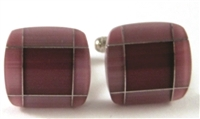 PINK CATS EYE CUFF LINK
