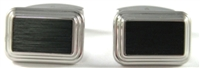 MATTE BLACK CUFF LINKS