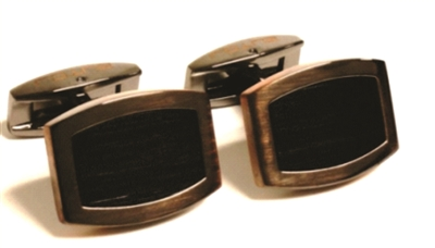 BRONZE CUFF LINKS