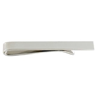 Sterling Silver Tie Bar Slide