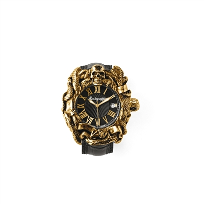 Chaos Automatic Watch, Gold