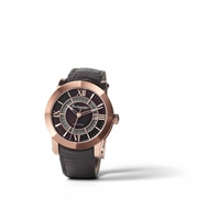 Automatic Brushed Rose Gold PVD