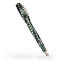 Divina Elegance Green Fountain Pen