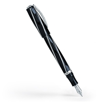 Divina Elegance Black Fountain Pen