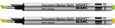 2 Montblanc Document Marker Refills