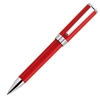 Aurora Red Resin w/ Chrome Trim Ballpoint