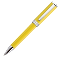 Aurora Yellow Resin w/ Chrome Trim Ballpoint