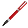 Aurora Red Resin w/ Chrome Trim Rollerball
