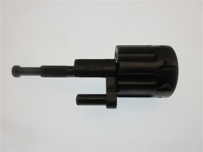Arminius Cylinder, .22 LR Blued w/ crane and ejector assembly.  Models HW3, HW5T, HW7T.  8 Rd capacity