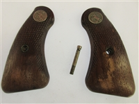 Colt Detective Special Grip Set, Wood