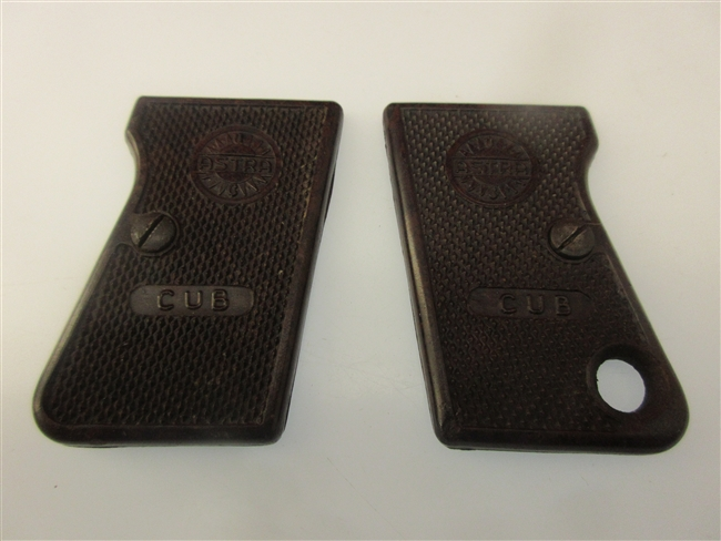 Astra Cub Grip Set W/ Screws