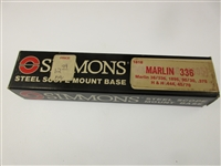 Simmons Scope Base, Marlin 336