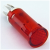 PACK OF 10 YuCo YC-12TPL-5R-12-10 RED LED 12MM 12V AC/DC