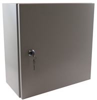 YuCo YC-12X8X6-UL-EL-2-KF NEMA 4 Enclosure with Lock and Keys