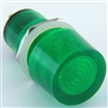 PACK OF 10 YuCo YC-15TRT-11G-12-10 GREEN LED 15MM 12V AC/DC
