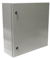 YuCo YC-24X24X10-UL-EL-2-KF Enclosure with Lock and Keys