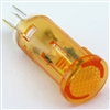 PACK OF 10 YuCo YC-9TPT-5A-12-10 AMBER LED 9MM 12V AC/DC