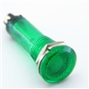 PACK OF 10 YuCo YC-9TRL-5G-220-10 GREEN LED 9MM 220V AC/DC
