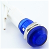 PACK OF 50 YuCo YC-9WRT-23B-24-10 BLUE LED 9MM 24V AC/DC