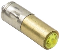 7mm BA7S LED Light AC/DC - Yellow - 24V