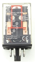 YC-REP-2P10A-6D YuCo ICE CUBE GENERAL PURPOSE RELAY OCTAL BASE 8PIN 2PDT 10AMP 12V DC-COIL