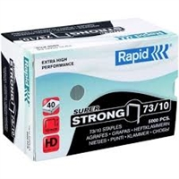 RAPID SUPER STRONG STAPLES  | SERIES 73 | LENGTH 10mm | 5,000 PER BOX