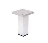 AL-EURO | SQUARE METAL LEG | HEIGHT 125mm