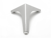 AL-TRIO III | SQUARE EDGE WINGED METAL LEG | HEIGHT 170mm