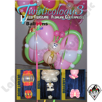 Twisticology 3 Deco-Twisting: Floating Centerpieces DVD