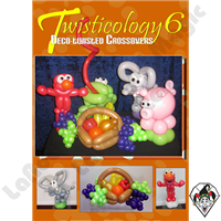 Twisticology 6 Deco-Twisting: Crossovers DVD